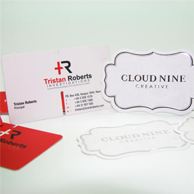 420gsm Business Card Die-cut